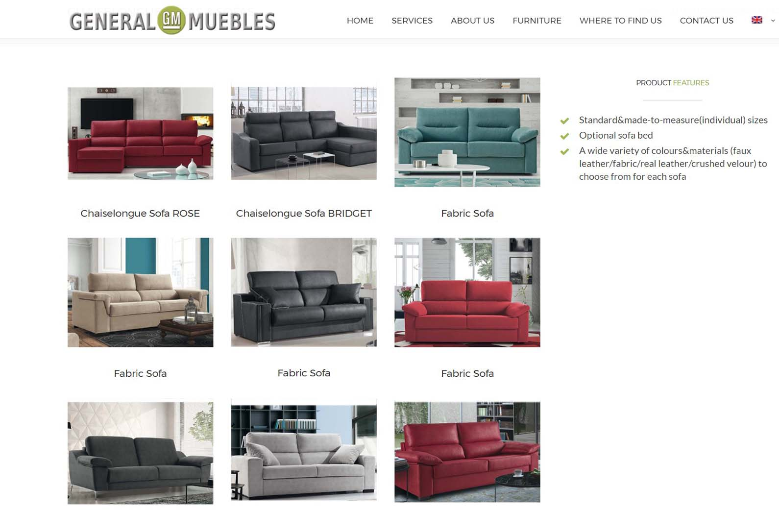 General Muebles Web Spain Studio