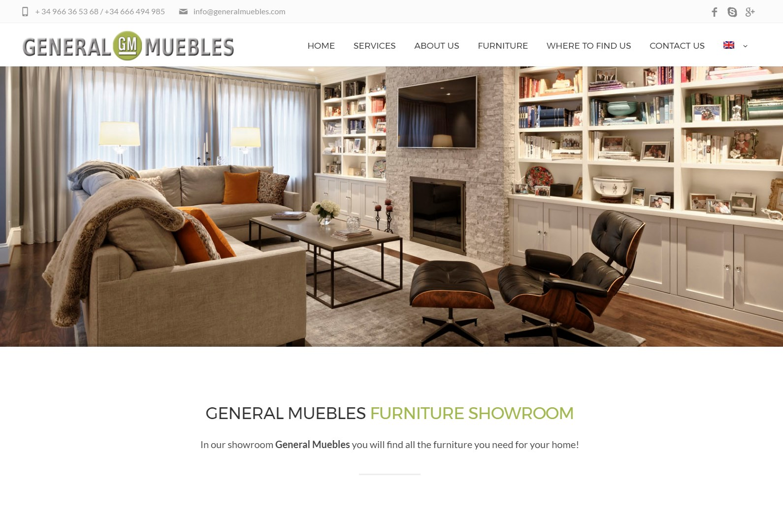 General Muebles Web Spain Studio # Muebles Potugueses